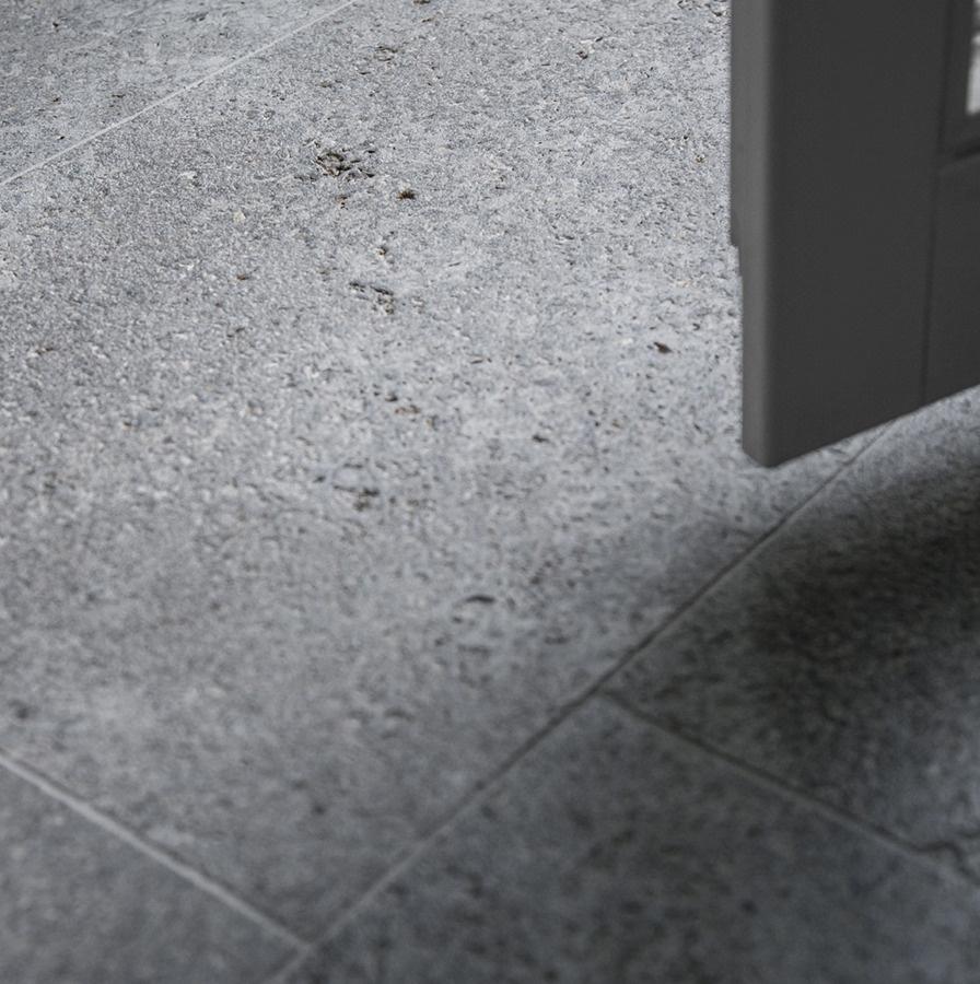 MUSCHELKALK || OF gestrahlt gebürstet